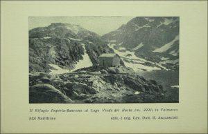 Kleudgen Guglielmo (Rifugio) già Rifugio Imperia al Lago Verde del Basto