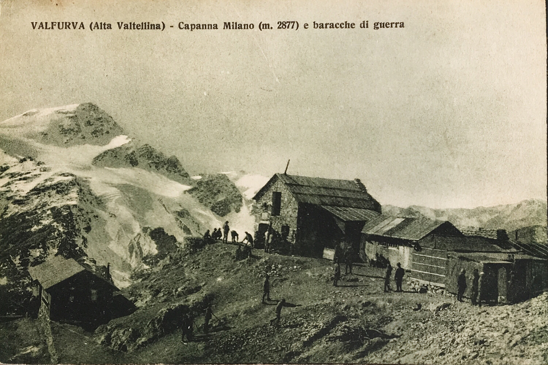 5° Alpini – Bertarelli Guido in Val Zebrù (Rifugio) già Capanna Milano