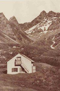 Vipiteno al Picco della Croce (Rifugio) già Sterzingerhütte