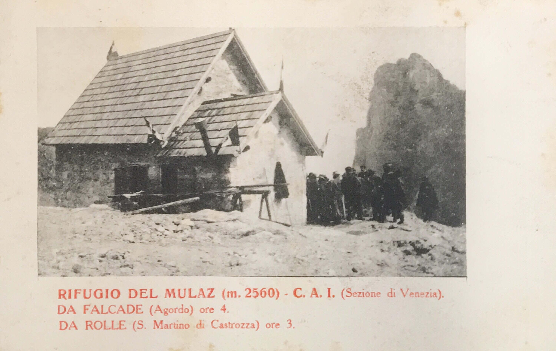 Volpi Giuseppe al Mulaz (Rifugio)