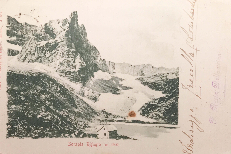 Vandelli Alfonso al Sorapiss (Rifugio) già Pfalzgauhütte, già Rifugio Cesare Luigi Luzzati