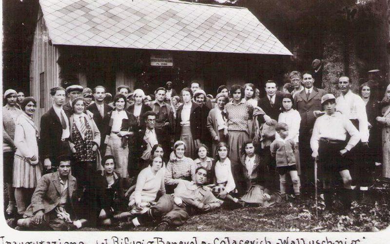 Benevolo Colacevich Walluschnig al Monte Nevoso (Rifugio)