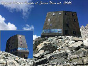 Vittorio Veneto al Sasso Nero (Rifugio) già Schwarzensteinhütte