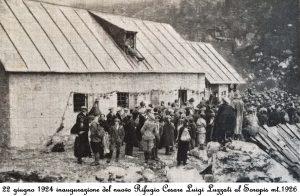 Vandelli Alfonso al Sorapiss (Rifugio) già Pfalzgauhütte, già Rigugio Cesare Luigi Luzzati