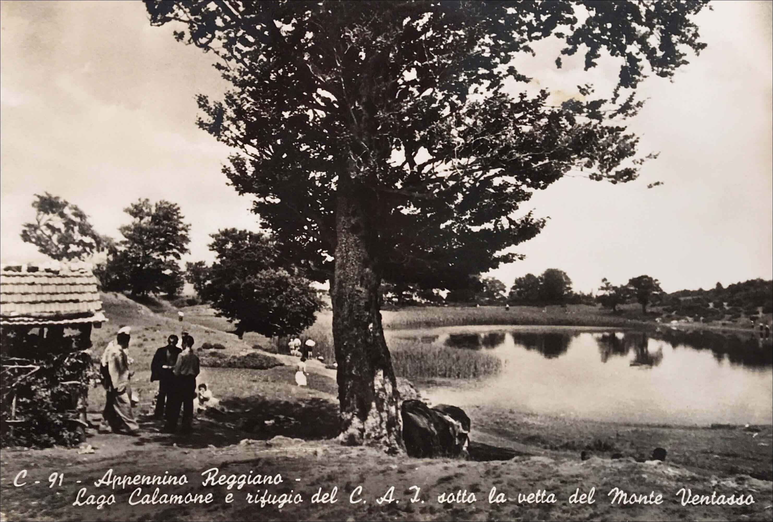 Venusta  (Rifugio),  già Rifugio Lago Calamone