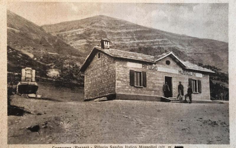 Sandro Italico Mussolini al Monte Carpegna (Rifugio)