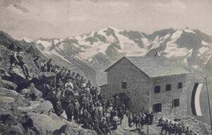 Vetta d'Italia (Rifugio) ora Neugersdoferhütte